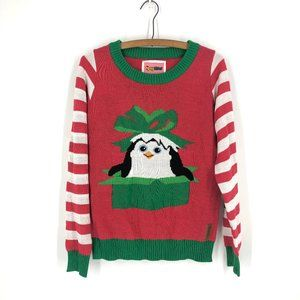 Tipsy Elves | Penguin Christmas Sweater Sz M
